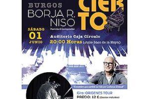 El pianista madrileño Borja R. Niso, el hombre del oído absoluto, regresa a Burgos para rendir homenaje a Ludovico Einaudi