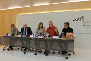 José María Bermúdez de Castro presenta su libro Atapuerca. Persiguiendo un sueño