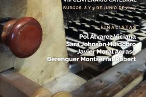 La Catedral de Burgos acoge mañana la primera jornada del I Concurso Nacional de Órgano Francisco Salinas – VIII Centenario de la Catedral