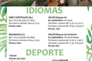 Unipec- Afalvi tienen una gran cantidad de actividades para este verano