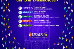 La XLI Vuelta a Burgos proyecta en su cartel oficial la imagen de la Catedral de Burgos