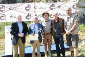 Germán Delibes y Ángel Ramos reciben los «Premios Evolución» 2019 de la Fundación Atapuerca