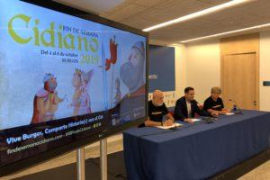 Durante los días 4, 5 y 6 de octubre se realizará la undécima edición del Fin de Semana Cidiano de Burgos