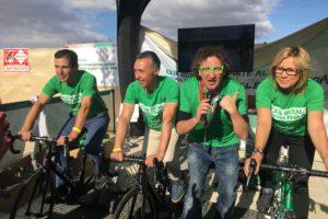 Éxito total en la Bicicleta Solidaria de Caja Rural en Aranda de Duero