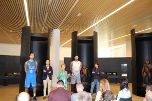 El San Pablo Burgos se inspira en el Bifaz 'Excalibur' para competir esta temporada en la Liga ACB y en Europa