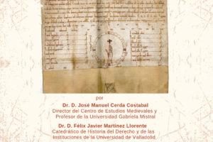El Instituto Castellano y Leonés de la Lengua acoge la presentación de un Privilegio Rodado desconocido e inédito de la Cancillería de la Reina Leonor Plantagenet