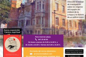 EL Instituto Castellano y Leonés de la Lengua programa el sábado28 de septiembre una visita cultural guiada al Palacio de la Isla de Burgos