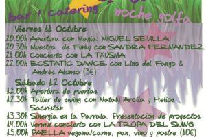 EL Viernes 11 y Sábado 12 de octubre el Centro de Creación Escénica La Parrala abre sus puertas con esta programación