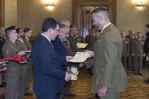 En el Palacio de Capitanía se hacen entrega de los Diplomas de los Cursos Sepe