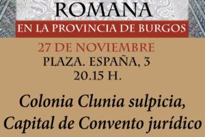 Miguel Ángel de la Iglesia Santamaría clausura con una conferencia el ciclo de Arqueología en la provincia de Burgos