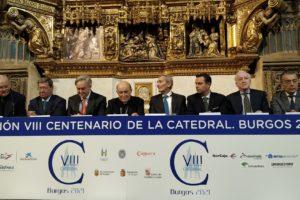Telefónica se suma a la celebración del VIII Centenario de la Catedral de Burgos