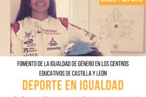 La piloto burgalesa Cristina Gutiérrez participará como embajadora de la Igualdad de AFEDECYL