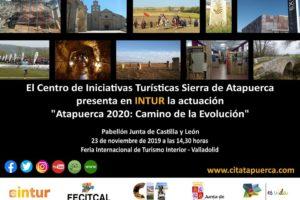 La Sierra de Atapuerca estará presente en la Feria Internacional de Turismo de Interior INTUR 2019