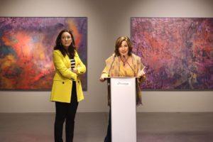 Último días de la exposición Senda de María José Castaño en la Sala Pedro Torrecilla de Fundación Cajacírculo