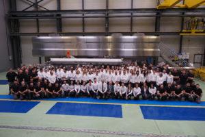 Hiperbaric inaugura la ampliación de sus instalaciones en el 20º aniversario de la compañía