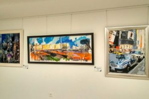 La Sala de Exposiciones Cajaviva acoge la muestra Miradas de Juan Martín Oña