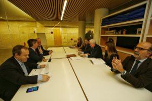 Se reúne la mesa de transparencia y control de la Fundación VIII Centenario de la Catedral. Burgos 2021