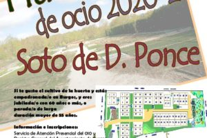 El Ayuntamiento abre una nueva convocatoria de huertos de ocio 2020-2021