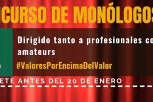 Ya está aquí la segunda edición del Concurso de Monólogos de Fundación Caja Rural
