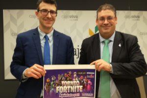 Cajaviva Caja Rural apoya la segunda edición del Torneo de Videojuegos Fortnite