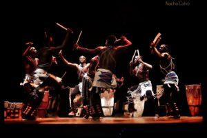 Los Tambores de Ruanda y los de Ugandan Sticks se presentan en Burgos
