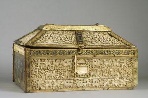 El Museo de Burgos presta la arqueta de marfil de Santo Domingo de Silos a La Alhambra
