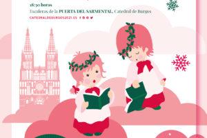 350 alumnos de doce colegios de Burgos cantarán villancicos por los 800 años de la Catedral