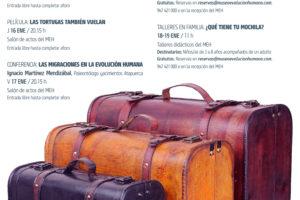 La CONGDCyL y el Museo de la Evolución Humana organizan unas jornadas divulgativas sobre migraciones