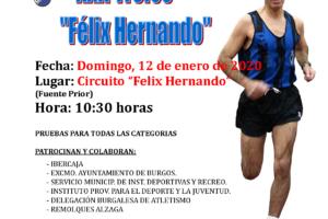 Este domingo 12 se realiza la segunda edición del Trofeo Félix Hernando en favor de la ELA