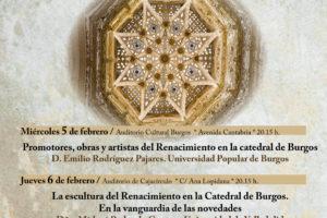 Unipec organiza el ciclo de conferencias El arte del Renacimiento en la Catedral de Burgos