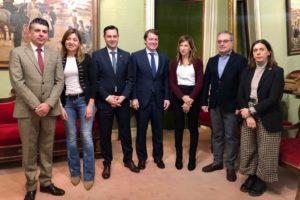 Fernández Mañueco subraya la apuesta de la Junta por aumentar el peso industrial de Burgos, para lo que también es necesaria la implicación del Gobierno central