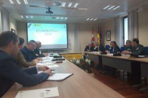 Pedro L. de la Fuente preside la reunión del Plan de Emergencia Exterior a la central nuclear de Santa Mª de Garoña