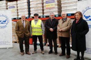 Se reparten más de 130.000 kilos de alimentos en la tercera fase del Programa de ayuda alimentaria de 2019