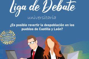 Los días 3 y 4 de marzo se celebrará el debate en la VII Liga de Debate Universitaria sobre la despoblación en los pueblos de Castilla y León