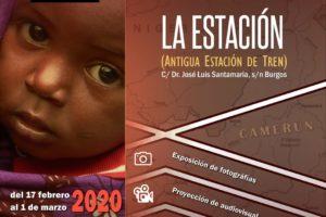 La Estación Burgos expone Viaje al corazón de África proyecto sanitario de la Fundación Mayo Rey