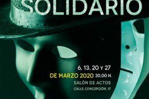 El viernes 6 de marzo comienza en el Salón de calle Concepción 17 una nueva edición del Teatro Solidario de Fundación Cajacírculo
