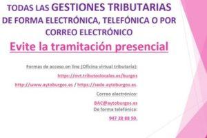 A partir del 1 de Abril los sujetos obligados sólo podrán relacionarse con la administración tributaria local de forma electrónica