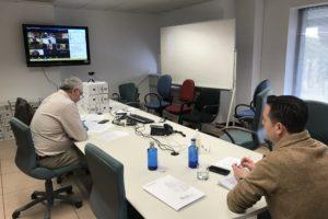 Se reúne por videoconferencia la Junta de Gobierno en funciones de asesoramiento