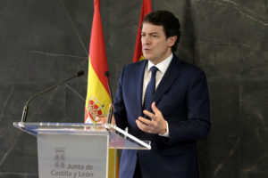La Junta establece nuevas medidas preventivas excepcionales en el municipio de Burgos para hacer frente a la pandemia del coronavirus y prorroga otros 14 días las limitaciones de aforos