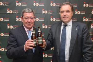 Mahou San Miguel y la Diputación de Burgos firman un acuerdo de colaboración para la promoción de la industria agroalimentaria burgalesa