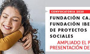 Las Fundaciones Cajacírculo e Ibercaja amplían el plazo de la convocatoria de proyectos sociales para 2020