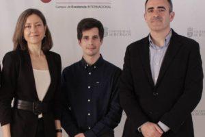 Tres investigadores de la UBU del grupo GEOTER muestran la incidencia diaria del covid 19 en Castilla y León