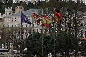 La Diputación de Burgos decreta que las banderas ondearán a media asta como luto oficial