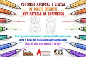 La Representación Histórica de la Batalla de Atapuerca celebra su XXV aniversario con un concurso de dibujo infantil nacional