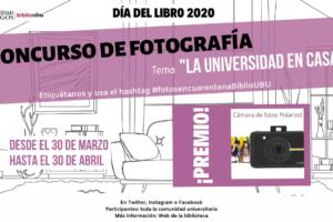 La UBU celebra el Día del Libro con un concurso de fotografía y otro de microrrelatos
