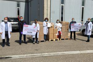 La Sección Sindical de Comisiones Obreras en Campofrío Frescos dona 3.620 euros al HUBU