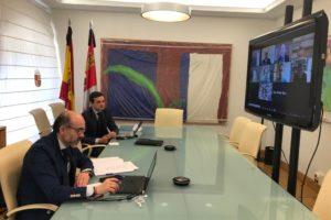 La Consejería de Cultura y la Fundación VIII Centenario de la Catedral. Burgos 2021 acuerdan la colaboración de la Junta en los actos de este verano