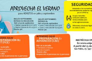 La Unipec presenta las actividades y campamentos para este verano