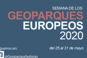 La VI Semana de los Geoparques Europeos será virtual del 25 al 31 de mayo