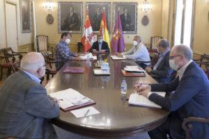 Se reune en la Diputación la Comisión Provincial para tratar los efectos del coronavirus